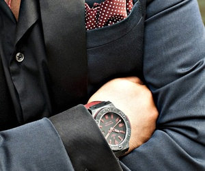 watch, fashion, and man image