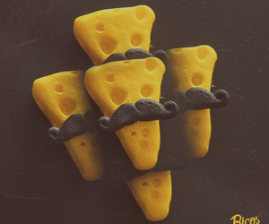 bigote, cheese, and food image