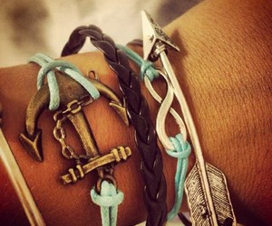 bracelet, anchor, and arrow image