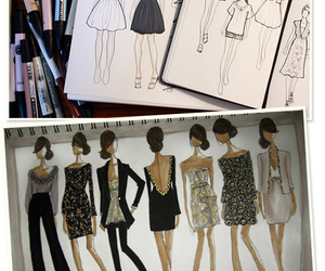 fashion and drawings image