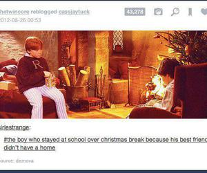 christmas, harry potter, and ron weasley image