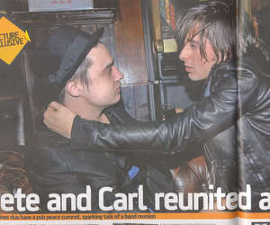 freinds, the libertines, and carl and pete image