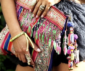accessories, aztec, and beads image