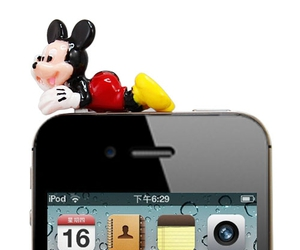 case, mickey mouse, and iphone 4s 4 image