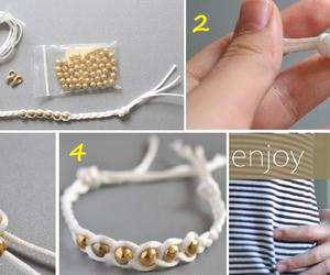 bracelet, fashion, and style image