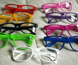 glasses, colors, and colours image