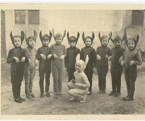 child, costume, and kids image