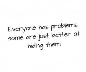 problems, quote, and text image