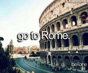 rome, italy, and roma image