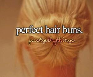 buns, hair, and quotes image