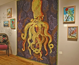 octopus and wall art image