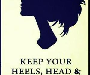 quote, heels, and standards image