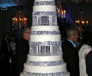 cake, wedding, and food image