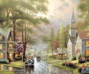 art, artwork, and churches image