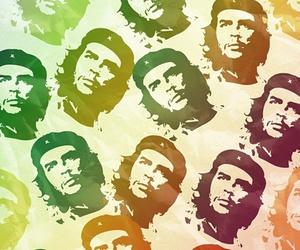 Che Guevara and creative portraits image
