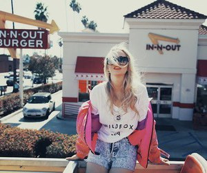 girl, blonde, and wildfox image
