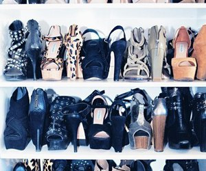 beautiful, closet, and shoes. girl image