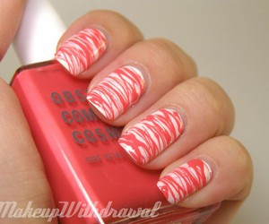 fashion, lines, and nails image
