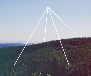 triangle, photography, and pyramid image