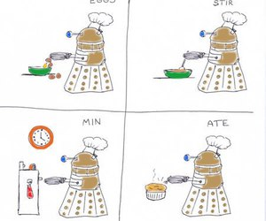 doctor who, Dalek, and dw image