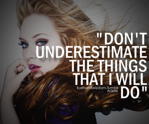 Adele, quote, and things image