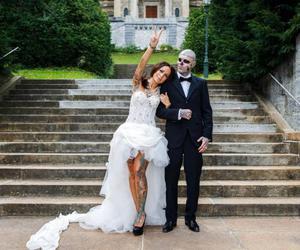couple, fuck, and wedding image