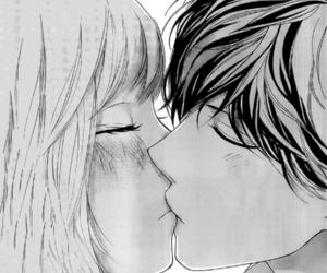 kiss, manga, and ao haru ride image