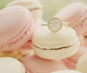 ring, pink, and sweet image
