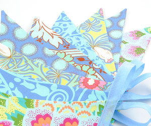 accessories, amy butler, and bunting image