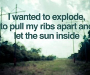 explode, quote, and text image