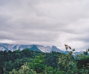 green, mountains, and nature image