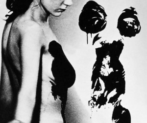 Yves Klein and anthropometry image