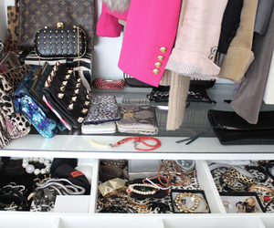 clothes, closet, and accessories image