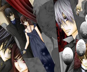 vampire knight, zero, and kaname image