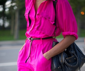neon, clothes, and pink image