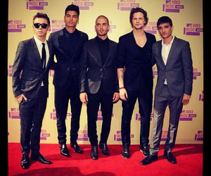 the wanted and 2012 image