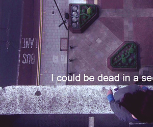 dead, skins, and typography image