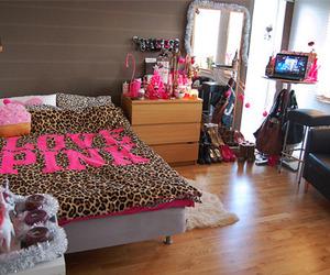 bedroom, girl, and girly image