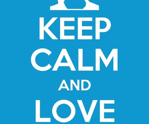 blue, epic, and keep calm image