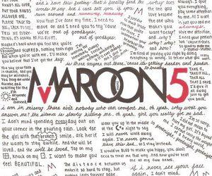 maroon 5, music, and maroon5 image
