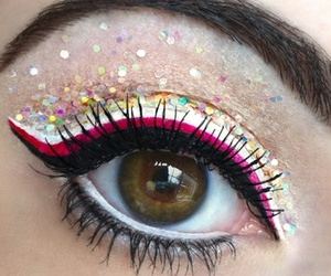 amazing, girl, and multicolor image