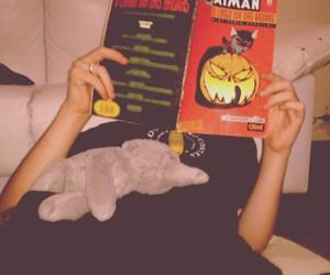 batman, ring, and boy image