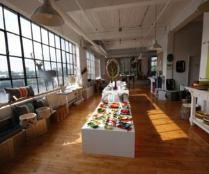 interior, loft, and shop image