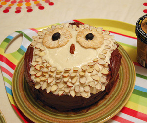 owl and cake image