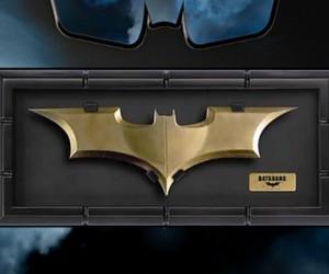 batman, the dark knight, and batarang image