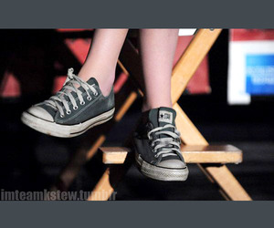 converse, foot, and shoes image