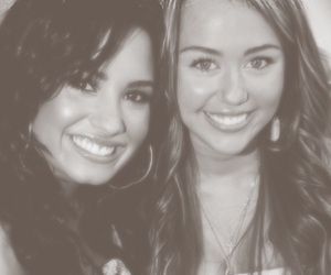 demi lovato, miley cyrus, and gorgeous image