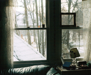 vintage, photography, and snow image