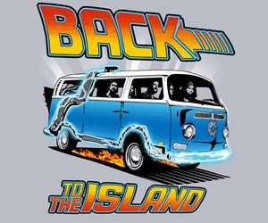 Back to the Future, lost, and back to the island image