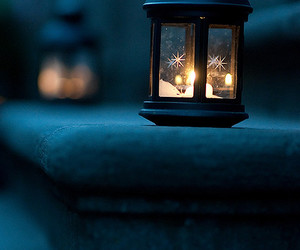light, candle, and lantern image